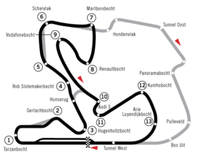 De BMW Compact Cup rijdt behalve op ons prachtige thuiscircuit Zandvoort ook op TT-circuit Assen en op Zolder in België.